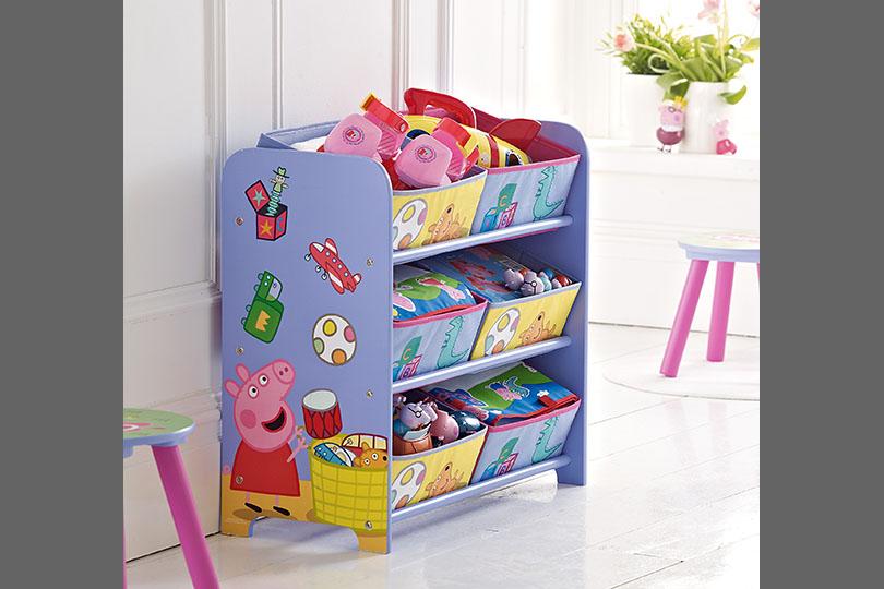 Peppa Pig 6 Bin Storage Unit Storage Ideas