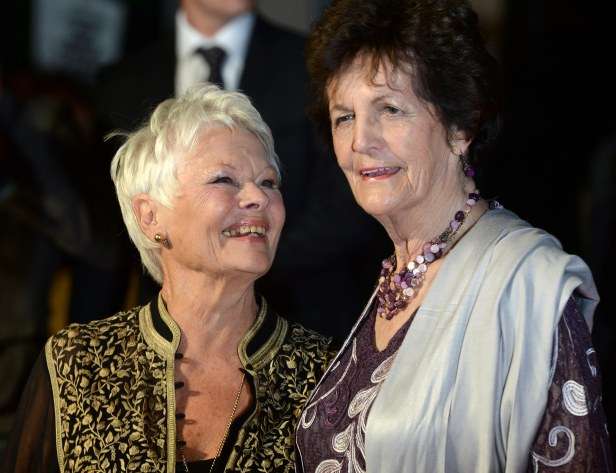 Dame Judi Dench and Philomena Lee at the premiere of Philomena in 2013.