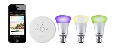 Philips Hue phone app and lightbulbs