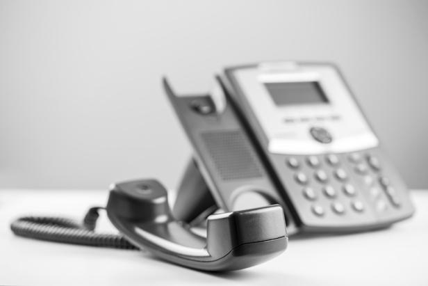 Elderly leave phone off hook