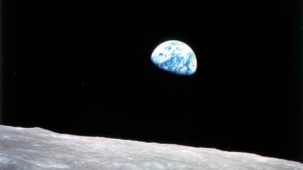 Apollo 8 Moonrise image photo credit: NASA