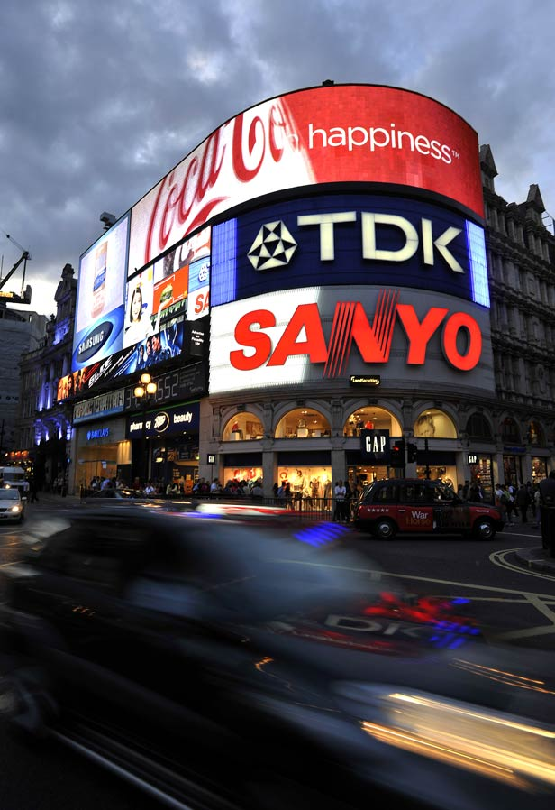 Piccadilly Circus 2009