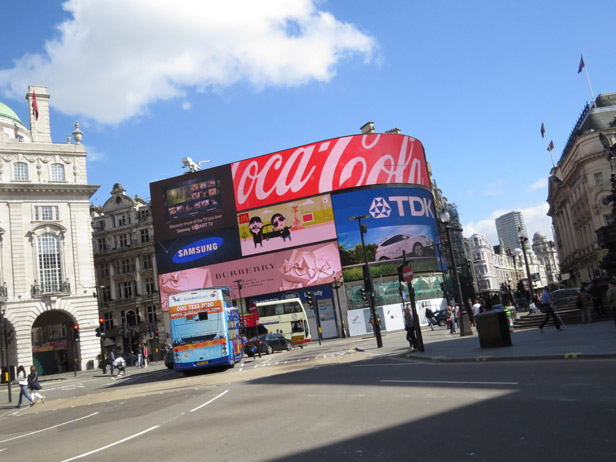 Piccadilly Circus 2014