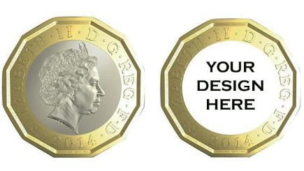 Gbp1 coin design competition launched bt for Military coin design template