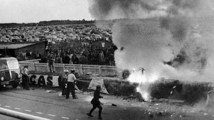 June 11 1955 Horrific Crash At Le Mans Leaves 84 Dead