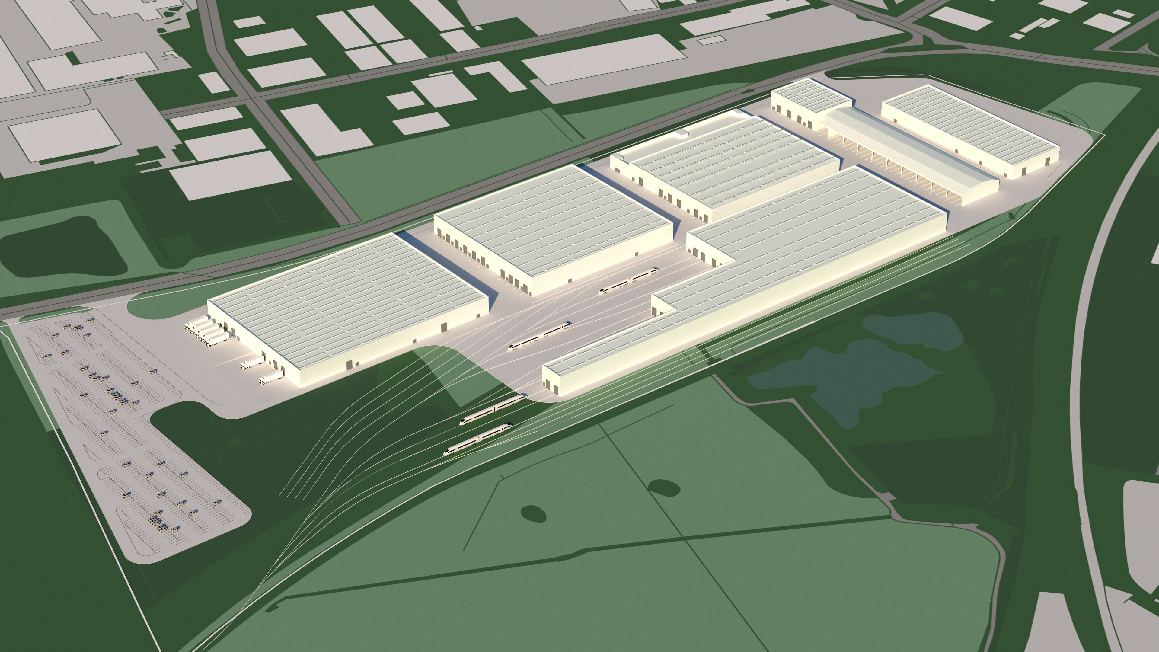 Siemens' new rail factory planned for Goole, UK