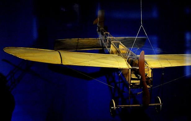 Model Bieriot X1 aircraft