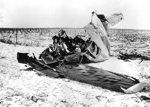Buddy Holly Ritchie Valens Plane Crash