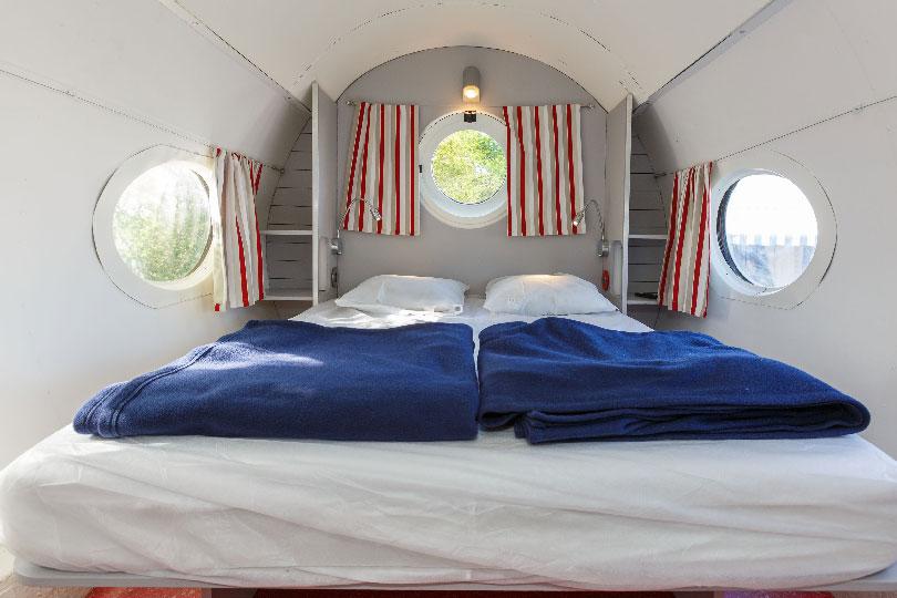 Plane bedroom