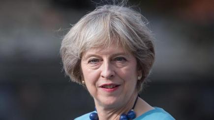 Child abuse survivor Ian McFadyen says he was assured by PM Theresa May, pictured, that the inquiry was fit for purpose
