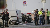 Police kill five terrorists wearing suicide belts in second attack in Spain