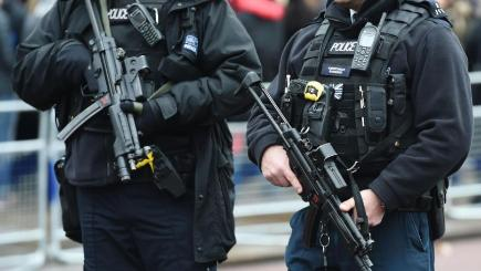 London police asked whether they want to carry guns