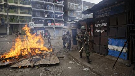 Police under the microscope as death toll rises following Kenyan election