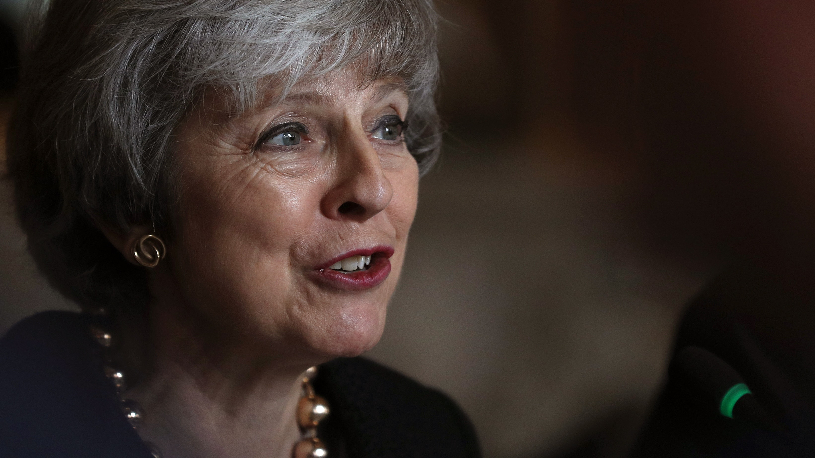 May warns of 'uncharted territory' if MPs reject Brexit deal