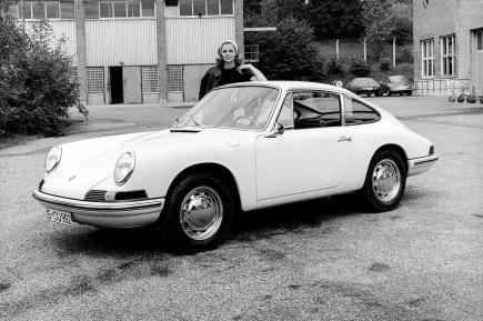 1964 prototype 911 Type T8: Even the car that would eventually become one of the world's most popular sports cars had to start somewhere.