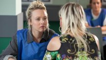 Theresa McQueen is plotting revenge on Sonny Valentine from behind bars (Limepictures)