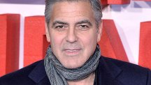 George Clooney will apparently celebrate his wedding at a dinner party in the UK