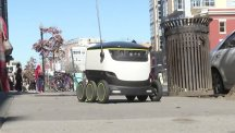 Postmates delivery robot