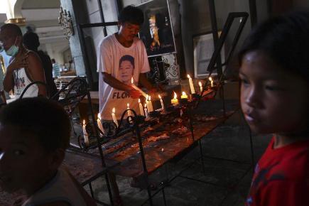 President in typhoon victims pledge
