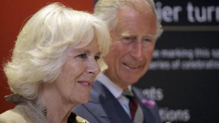 The Prince of Wales and Duchess of Cornwall have visited Oakham and Rutland Water