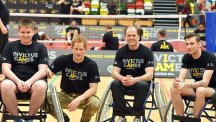 Prince Harry and Invictus Games competitors
