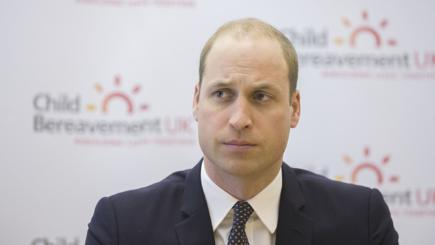 Prince William visits Child Bereavement Centre, London, UK