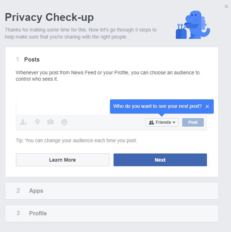 privacy check up