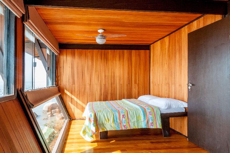 Private beach bedroom