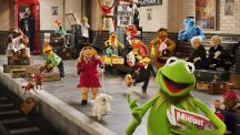 Publicity picture from Muppets Most Wanted