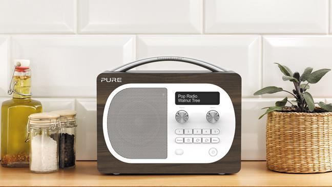pure evoke d4 in kitchen - Kitchen Radio