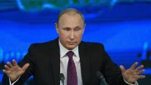 Russian President Vladimir Putin hopes that the Ukraine crisis can be resolved through peace talks