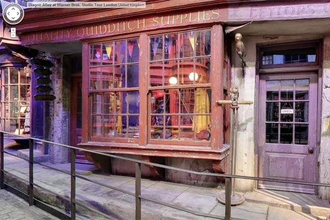 Harry Potter's Diagon Alley comes to Google Maps - BT on