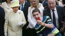 The Queen is not believed to be a fan of selfies