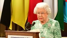 Queen speaks of wish for world leaders to endorse Charles as Commonwealth head