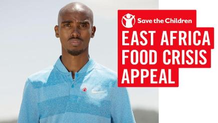 Sir Mo Farah has backed a charity appeal to combat the drought in Somalia (Save the Children/PA)