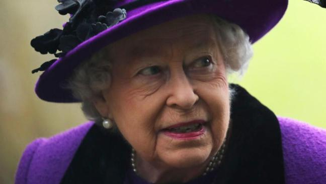 The Royal Canadian Mounted Police Presented Queen With A Horse Called Sir John For Her