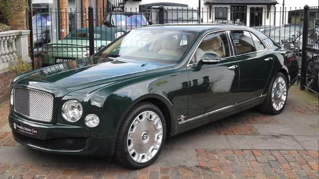 Queen\'s Diamond Jubilee Bentley Mulsanne put up for sale - BT