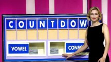 Rachel Riley played it cool after spelling out the rude word on Countdown's letters board