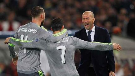 Ramos, Ronaldo and Zidane