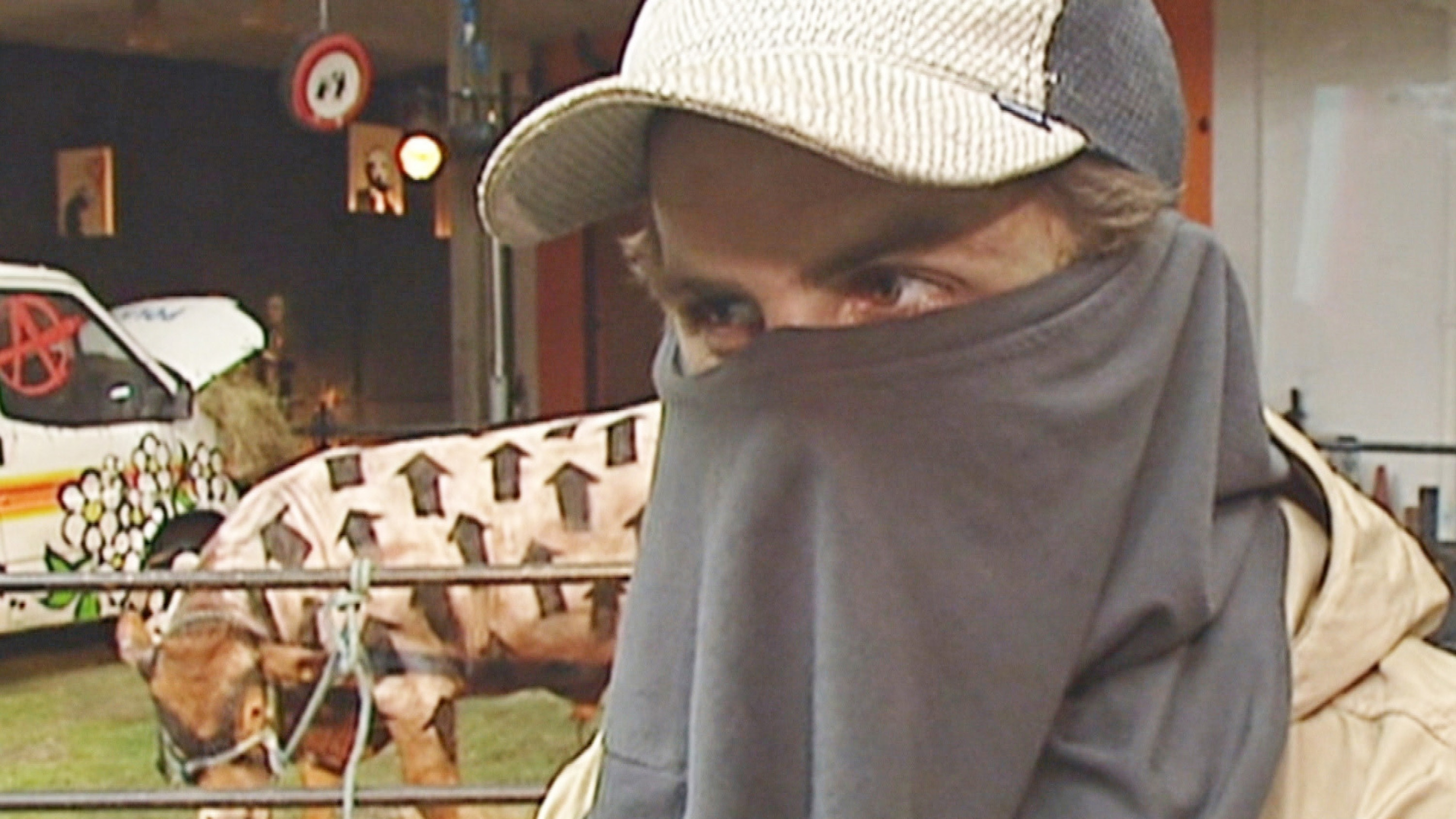 Unearthed TV footage may have finally revealed Banksy's identity