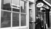 Ready to receive its clients is the licensed betting office owned by Fred Morgan, in Kingsland Road, Shoreditch.