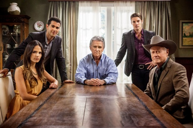 The cast of the Dallas reboot, which ran from 2012-2014.