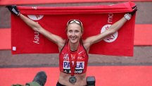 Paula Radcliffe completed her final marathon