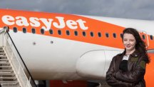 Record-breaking young pilot offered easyJet opportunity