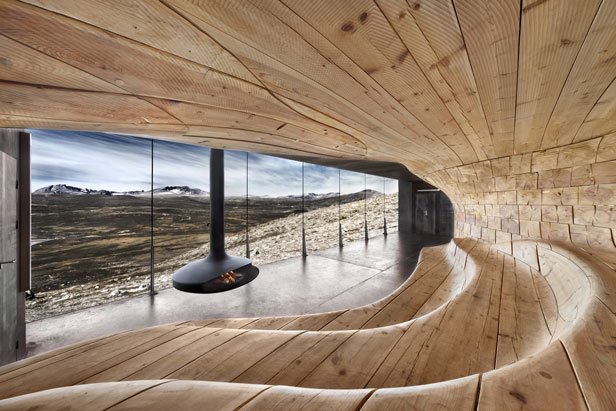 Reindeer Pavilion, Dovrefjell National Park, Norway
