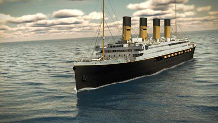 Replica Titanic to set sail in 2018