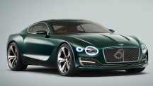 A Bentley EXP 10 Speed 6 concept car