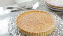 Richard Burr's almond custard tart