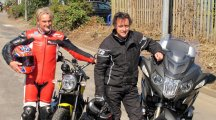 Richard Hammond and Carl Fogarty team up for charity bike ride rally