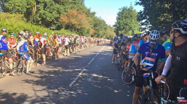 2d90c6666 RideLondon cyclists diverted as air ambulance called to incident - BT
